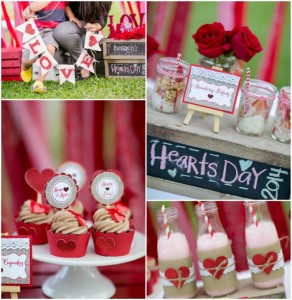 All You Need is Love Valentine's Day Party with Such Cute Ideas via Kara's Party Ideas.com #loveparty #vday #xoxo #redheartparty #karaspartyideas (22)