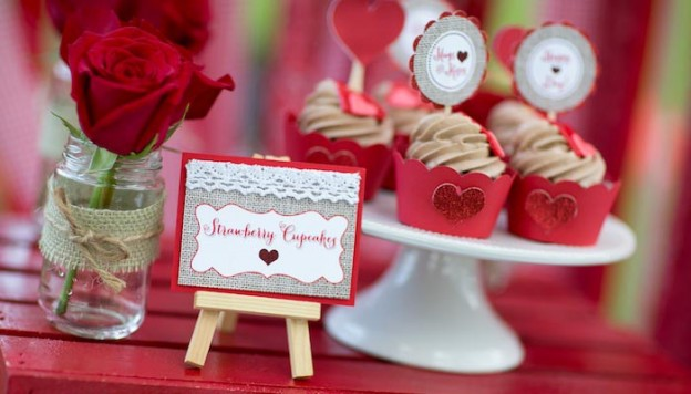 All You Need is Love Valentine's Day Party with Such Cute Ideas via Kara's Party Ideas.com #loveparty #vday #xoxo #redheartparty #karaspartyideas (1)