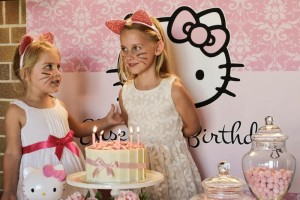 Pastel Pink Hello Kitty themed birthday party with lots of cute ideas via Kara's Party Ideas | KarasPartyIdeas.com #hellokitty #partyideas #decor (7)