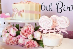 Pastel Pink Hello Kitty themed birthday party with lots of cute ideas via Kara's Party Ideas | KarasPartyIdeas.com #hellokitty #partyideas #decor (6)