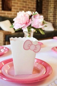 Pastel Pink Hello Kitty themed birthday party with lots of cute ideas via Kara's Party Ideas | KarasPartyIdeas.com #hellokitty #partyideas #decor (5)