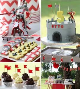 Knight themed birthday party with Such Cute Ideas via Kara's Party Ideas Kara Allen KarasPartyIdeas.com #knightparty #medievalpartyideas #partydecor #partyideas (13)