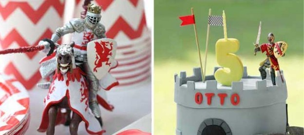 knight themed birthday party via Kara's Party Ideas KarasPartyIdeas.com #knights #knightparty