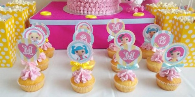 Lalaloopsy Birthday Party with Such Cute Ideas via Kara's Party Ideas KarasPartyIdeas.com #lalaloopsyparty #girlparty #dollparty #partydecor (1)