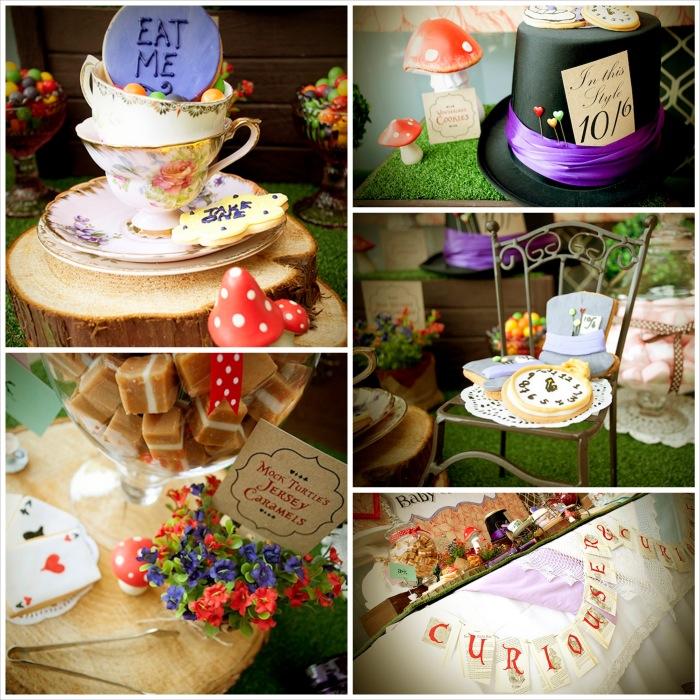 Mad Hatter Tea Party Baby Shower With SO MANY FABULOUS IDEAS Via Karas Ideas