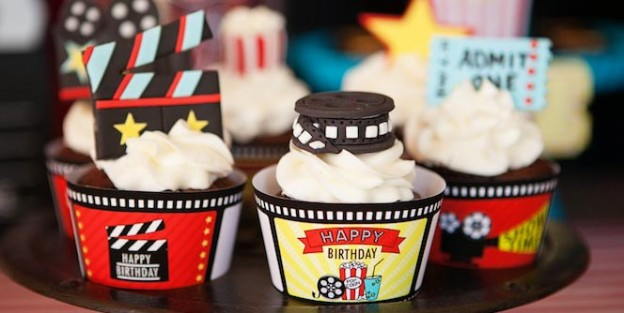 Movie Themed Birthday Party FULL of FABULOUS IDEAS via Kara's Party Ideas Kara Allen KarasPartyIdeas.com #movieparty #hollywoodparty #partyideas (1)
