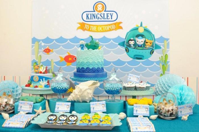 Kara's Party Ideas Octonauts Themed Birthday Party via ...