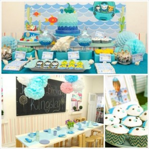 Octonauts Themed Birthday Party with Lots of Great Ideas via Kara's Party Ideas KarasPartyIdeas.com #octonautsparty #partydecor #partyideas (11)
