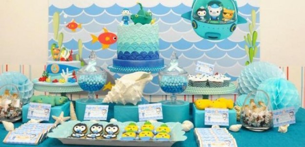 Octonauts Themed Birthday Party with Lots of Great Ideas via Kara's Party Ideas KarasPartyIdeas.com #octonautsparty #partydecor #partyideas (1)