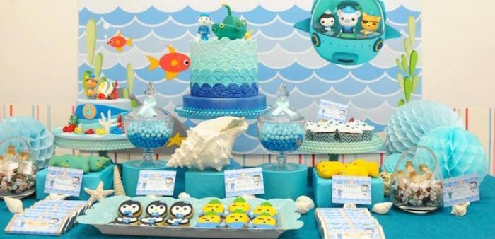 Octonauts Birthday Party Decorations: Kara's Party Ideas Octonauts Themed Birthday Party