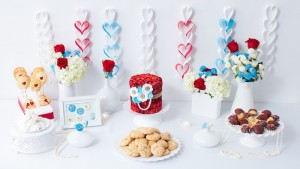 Pearls and Swirls Themed Valentine's Day Dessert Bar with Lots of Really Cute Ideas via Kara's Party Ideas Kara Allen KarasPartyIdeas.com (10)
