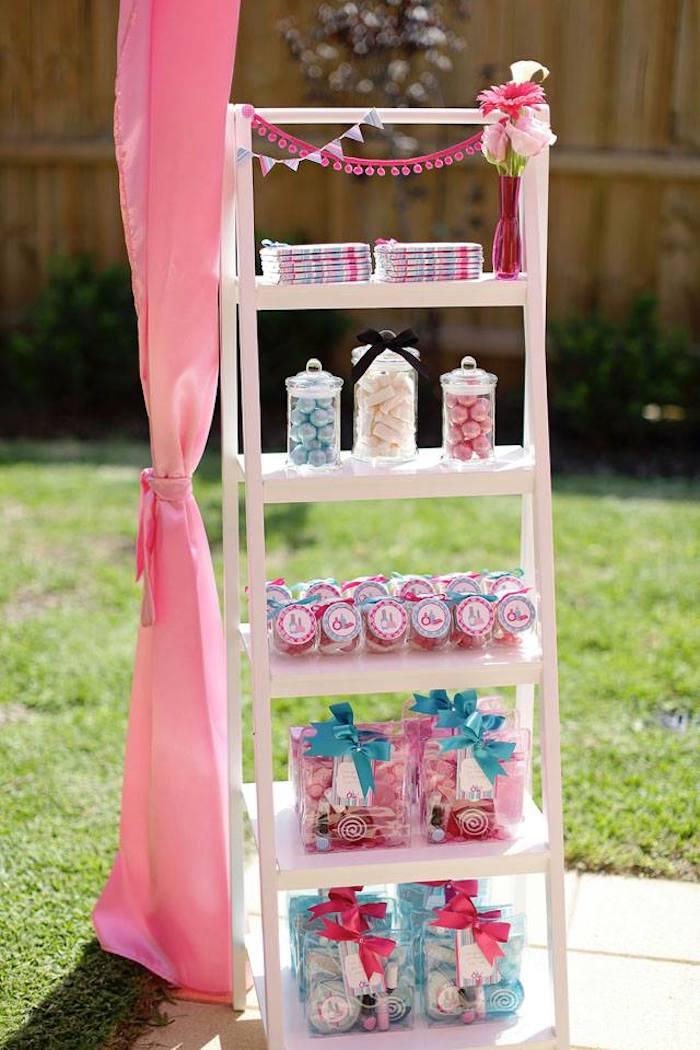 Kara S Party Ideas Salon Themed Birthday Party With Lots