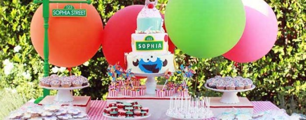 sesame street birthday party via Kara's party ideas karaspartyideas.com