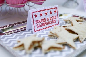 You're a Star Themed Talent Show Party with Lots of Really Cute Ideas via Kara's Party Ideas KarasPartyIdeas.com #hollywoodparty #talentshow #hollywoodpartydecor #starparty #partydecor #partyideas (26)