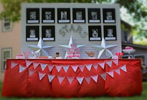 You're a Star Themed Talent Show Party with Lots of Really Cute Ideas via Kara's Party Ideas KarasPartyIdeas.com #hollywoodparty #talentshow #hollywoodpartydecor #starparty #partydecor #partyideas (19)