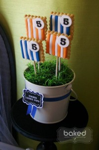 Soccer themed birthday party with Lots of Awesome Ideas via Kara's Party Ideas Kara Allen KarasPartyIdeas.com #soccerparty #soccercake #sportsparty #fifthbirthday #boyparty #partyideas (5)