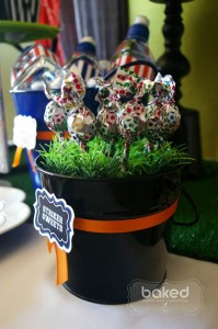 Soccer themed birthday party with Lots of Awesome Ideas via Kara's Party Ideas Kara Allen KarasPartyIdeas.com #soccerparty #soccercake #sportsparty #fifthbirthday #boyparty #partyideas (9)