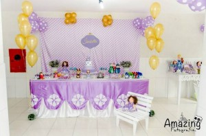 Sofia the First Themed Birthday Party with So Many Cute Ideas via Kara's Party Ideas | KarasPartyIdeas.com #princessparty #sofiathefirstparty #disneyprincess #partydecor #partyideas (6)