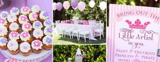 sophia the first princess themed birthday party via Kara's Party Ideas KarasPartyIdeas.com