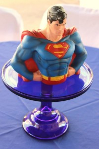 Vintage Superhero themed birthday party with SUPER AWESOME IDEAS via Kara's Party Ideas   KarasPartyIdeas.com #vintageboyparties #supeheroes #superheroparty #supeherocake #partydecor #partyideas (12)
