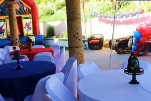 Vintage Superhero themed birthday party with SUPER AWESOME IDEAS via Kara's Party Ideas | KarasPartyIdeas.com #vintageboyparties #supeheroes #superheroparty #supeherocake #partydecor #partyideas (4)