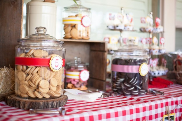Cowboy + Cowgirl Themed Joint Birthday Party with Such Cute Ideas via Kara's Party Ideas Kara Allen KarasPartyIdeas.com #westernparty #barnyardparty #westerndecor #jointbirthdayparty #partyideas (38)