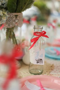 Shabby Chic Alice in Wonderland Themed Birthday Party Full of Fabulous Ideas via Kara's Party Ideas KarasPartyIdeas.com #aliceinwonderland #queenofhearts #madhatter #shabbychicparty #partyideas (16)
