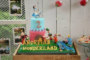 Shabby Chic Alice in Wonderland Themed Birthday Party Full of Fabulous Ideas via Kara's Party Ideas KarasPartyIdeas.com #aliceinwonderland #queenofhearts #madhatter #shabbychicparty #partyideas (13)