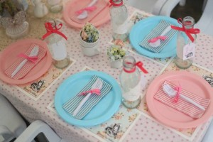 Shabby Chic Alice in Wonderland Themed Birthday Party Full of Fabulous Ideas via Kara's Party Ideas KarasPartyIdeas.com #aliceinwonderland #queenofhearts #madhatter #shabbychicparty #partyideas (8)