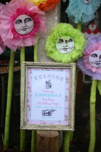 Shabby Chic Alice in Wonderland Themed Birthday Party Full of Fabulous Ideas via Kara's Party Ideas KarasPartyIdeas.com #aliceinwonderland #queenofhearts #madhatter #shabbychicparty #partyideas (5)