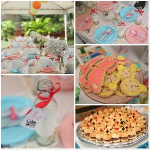 Shabby Chic Alice in Wonderland Themed Birthday Party Full of Fabulous Ideas via Kara's Party Ideas KarasPartyIdeas.com #aliceinwonderland #queenofhearts #madhatter #shabbychicparty #partyideas (38)