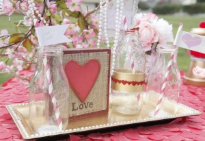 Sweet Love Valentine's Day Party with Really Cute Ideas via Kara's Party Ideas KarasPartyIdeas.com #loveparty #valentinesday #bridalshower #lovepartyideas (7)