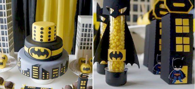 Kara S Party Ideas Batman Themed Birthday Party Planning