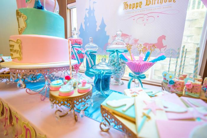 Kara S Party Ideas Cinderella Royal Ball Birthday Party