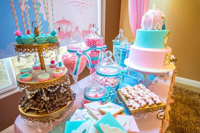 Cinderella Royal Ball Birthday Party Via Karas Ideas KarasPartyIdeas PrincessParty CinderellaParty