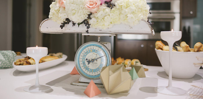 Karau0027s Party Ideas Modern Meets Vintage Baby Shower {Party, Planning, Ideas,  Decor, Idea}
