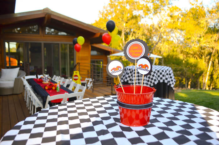 Kara S Party Ideas Race Car Themed Birthday Party Via Kara S Party