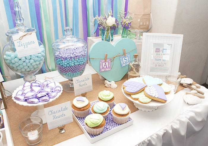 Beach Themed Engagement Party With Such Beautiful Ideas Via Karas KarasPartyIdeas