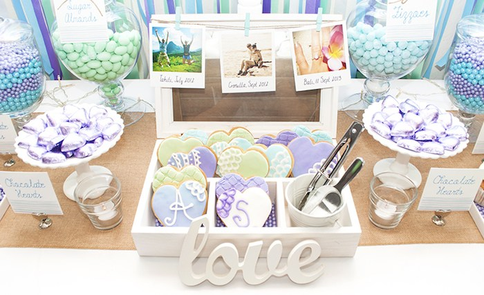Tiffany Blue Engagement Party Dessert Table - By Badabing ... |Engagement Party Dessert Recipes
