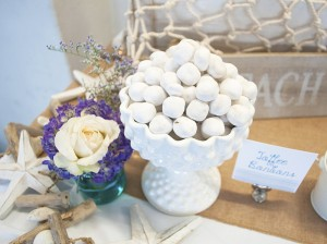Beach Themed Engagement Party with Such Beautiful Ideas via Kara's Party Ideas KarasPartyIdeas.com #elegantbeachparty #engagementparty #partydecor #partyideas (21)