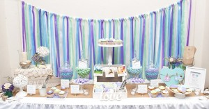 Beach Themed Engagement Party with Such Beautiful Ideas via Kara's Party Ideas KarasPartyIdeas.com #elegantbeachparty #engagementparty #partydecor #partyideas (3)