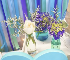 Beach Themed Engagement Party with Such Beautiful Ideas via Kara's Party Ideas KarasPartyIdeas.com #elegantbeachparty #engagementparty #partydecor #partyideas (19)