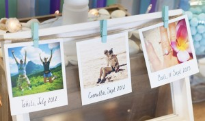 Beach Themed Engagement Party with Such Beautiful Ideas via Kara's Party Ideas KarasPartyIdeas.com #elegantbeachparty #engagementparty #partydecor #partyideas (15)