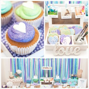 Beach Themed Engagement Party with Such Beautiful Ideas via Kara's Party Ideas KarasPartyIdeas.com #elegantbeachparty #engagementparty #partydecor #partyideas (23)