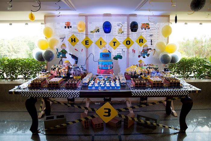 kara u0026 39 s party ideas bob the builder themed birthday party