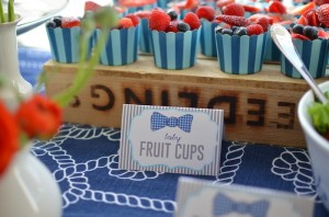 Bow Tie Baby Shower with So Many Great Ideas via Kara's Party Ideas KarasPartyIdeas.com #botieparty #boybabyshower #partydecor #partyideas (8)