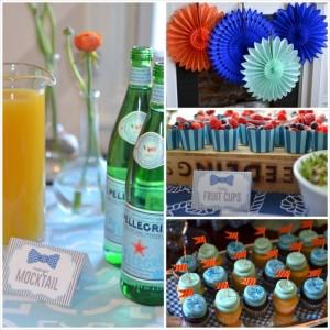 Bow Tie Baby Shower with So Many Great Ideas via Kara's Party Ideas KarasPartyIdeas.com #botieparty #boybabyshower #partydecor #partyideas (27)