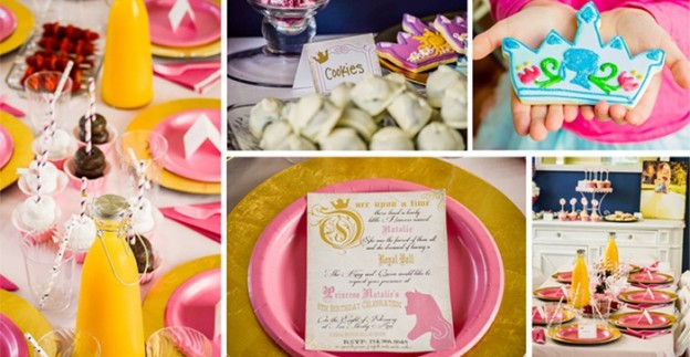 Princess Brunch with Lots of Cute Ideas via Kara's Party Ideas KarasPartyIdeas.com #princessparty #girlyparty #disney #partydecor #partyideas (1)