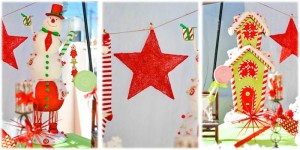 Christmas Brunch Party with Lots of Really Cute Ideas via Kara's Party Ideas Cake, decor, cupcakes, games and more! KarasPartyIdeas.com #christmas #christmasparty #partyideas #partydecor (9)