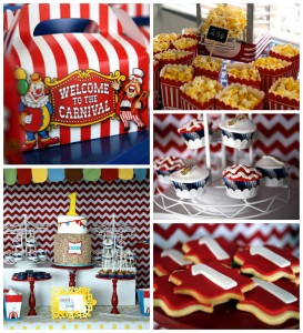 Circus Carnival Themed 1st Birthday Party Full of Fabulous Ideas via Kara's Party Ideas KarasPartyIdeas.com #circusparty #carnivalparty #bigtopcircusparty #partydecor #partyideas (25)